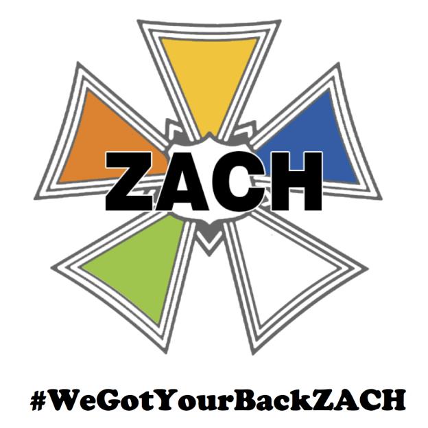 #WeGotYourBackZACH