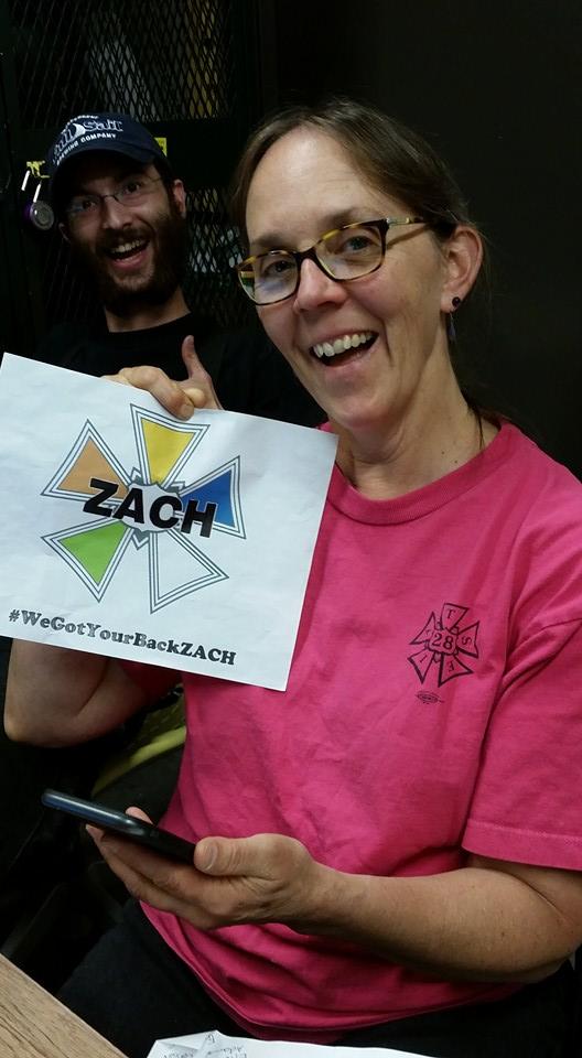 IATSE Local 28 & 675 #WeGotYourBackZACH