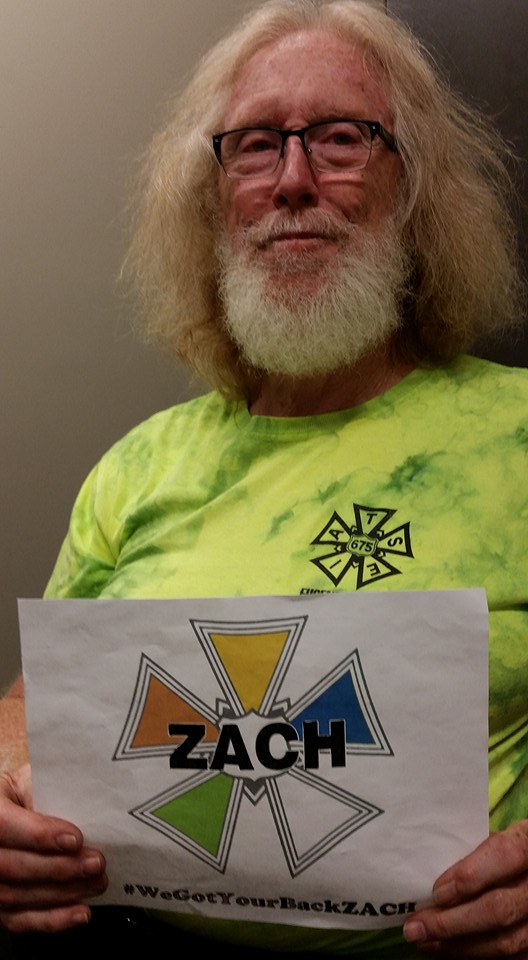 IATSE Local 28 & 675 #WeGotYourBackZACH