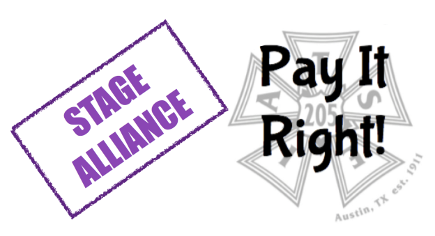 Stage Alliance Pay It Right!