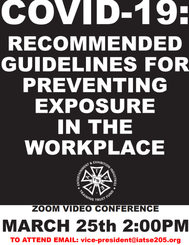 COVID-19 Safety Training Flyer